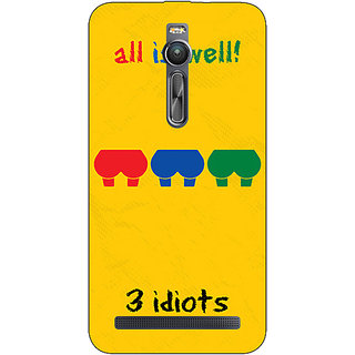 Absinthe Bollywood Superstar Three Idiots Back Cover Case For Asus Zenfone 2 ZE550 ML