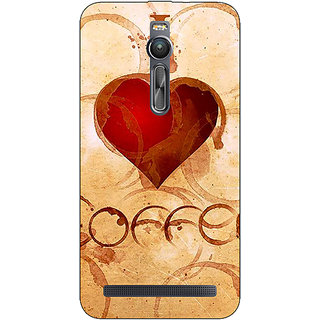 Absinthe Coffee Quote Back Cover Case For Asus Zenfone 2 ZE550 ML