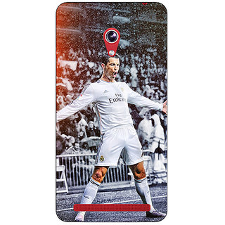 Absinthe Cristiano Ronaldo Real Madrid Back Cover Case For Asus Zenfone 6 600CG