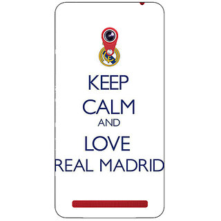 Absinthe Real Madrid Back Cover Case For Asus Zenfone 6 600CG