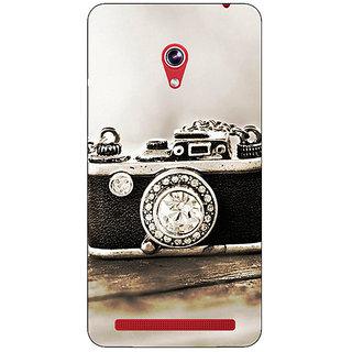 Absinthe Vintage Camera  Back Cover Case For Asus Zenfone 6 600CG