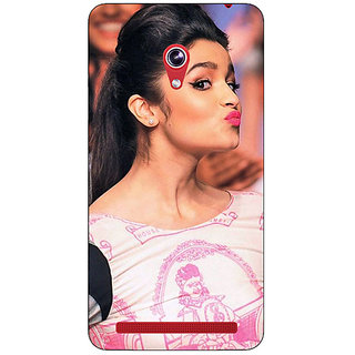 Absinthe Bollywood Superstar Alia Bhatt Back Cover Case For Asus Zenfone 6 600CG