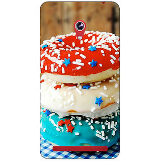 Absinthe Donuts Back Cover Case For Asus Zenfone 6 600CG