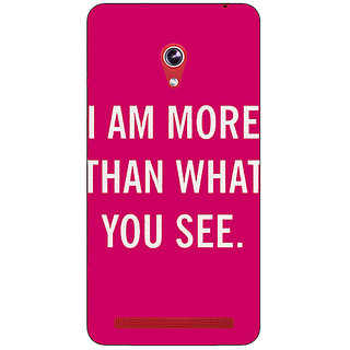 Absinthe Quote Back Cover Case For Asus Zenfone 6 600CG
