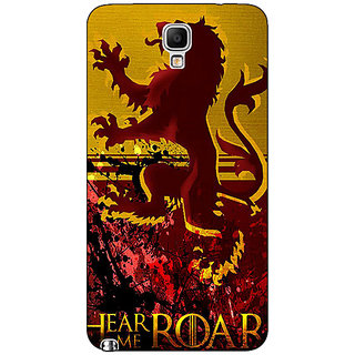 Absinthe Game Of Thrones GOT House Lannister Back Cover Case For Samsung Note 3 Neo