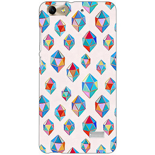 Absinthe Diamonds of Dreams Pattern Back Cover Case For Huawei Honor 4C