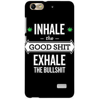 Absinthe Weed Quotes Back Cover Case For Huawei Honor 4C