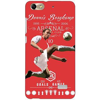 Absinthe Arsenal Dennis Bergkamp Back Cover Case For Huawei Honor 4C