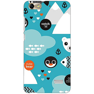 Absinthe Winter Pattern  Back Cover Case For Huawei Honor 4C
