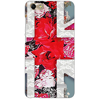 Absinthe Floral Back Cover Case For Huawei Honor 4C