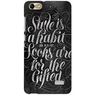 Absinthe COCO  Quote Ba Cover Case For Huawei Honor 4C