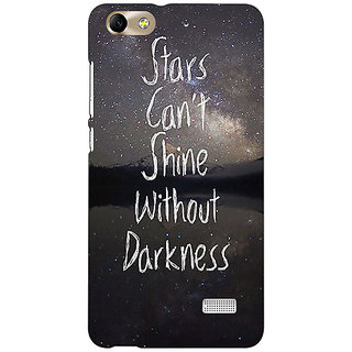 Absinthe Quote Back Cover Case For Huawei Honor 4C