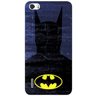 Absinthe Superheroes Batman Dark knight Back Cover Case For Huawei Honor 6