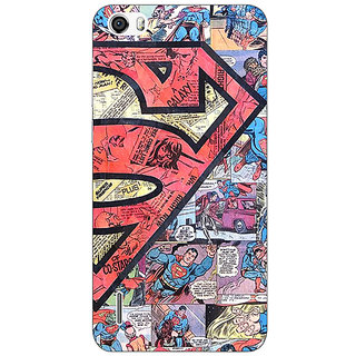 Absinthe Superheroes Superman Back Cover Case For Huawei Honor 6