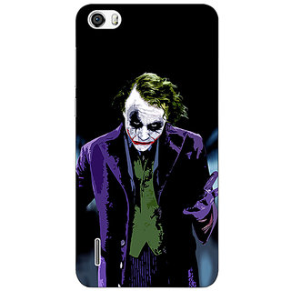 Absinthe Villain Joker Back Cover Case For Huawei Honor 6