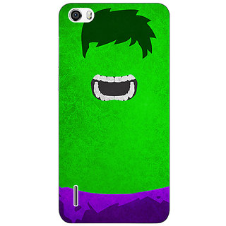 Absinthe Superheroes Hulk Back Cover Case For Huawei Honor 6