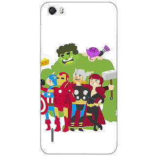 Absinthe Superheroes Baby Avengers Back Cover Case For Huawei Honor 6