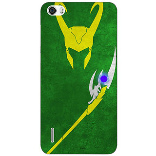 Absinthe Superheroes Loki Back Cover Case For Huawei Honor 6
