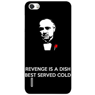 Absinthe The Godfather Back Cover Case For Huawei Honor 6