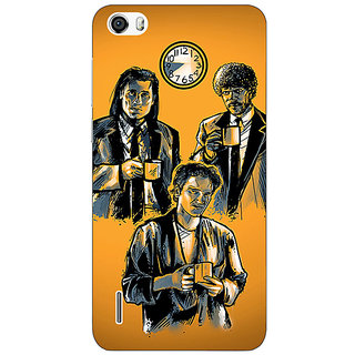 Absinthe Pulp Fiction Back Cover Case For Huawei Honor 6