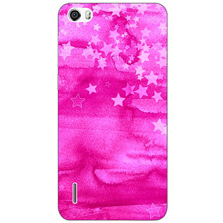Absinthe Star Morning Pattern Back Cover Case For Huawei Honor 6