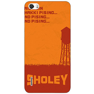 Absinthe Bollywood Superstar Sholay Back Cover Case For Huawei Honor 6