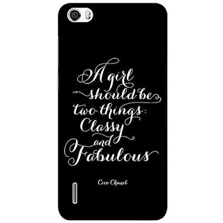 Absinthe Quote Back Cover Case For Huawei Honor 6