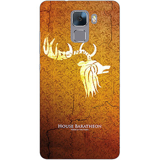 Absinthe Game Of Thrones GOT House Baratheon  Back Cover Case For Huawei Honor 7