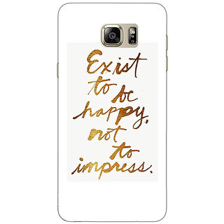 Absinthe Happy Quotes Back Cover Case For Samsung Galaxy Note 5