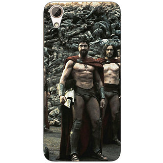 Absinthe King Leonidas Spartan Back Cover Case For HTC Desire 626