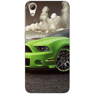 Absinthe Super Car Mustang Back Cover Case For HTC Desire 626