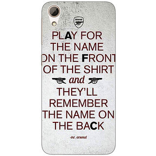 Absinthe Arsenal Back Cover Case For HTC Desire 626G