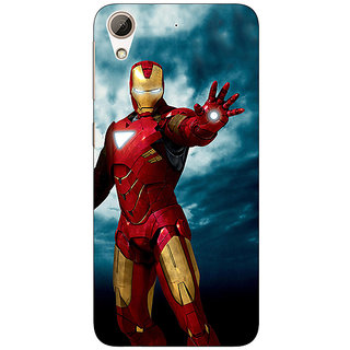 Absinthe Superheroes Ironman Back Cover Case For HTC Desire 626G+