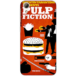 Absinthe Pulp Fiction Back Cover Case For HTC Desire 626G+