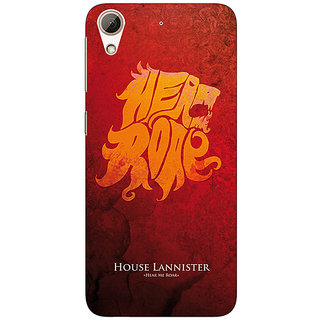 Absinthe Game Of Thrones GOT House Lannister  Back Cover Case For HTC Desire 728 Dual Sim