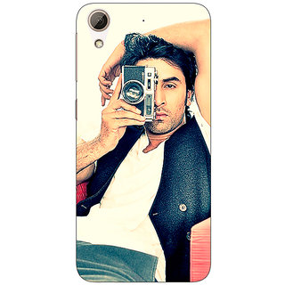 Absinthe Bollywood Superstar Ranbir Kapoor Back Cover Case For HTC Desire 728G Dual Sim