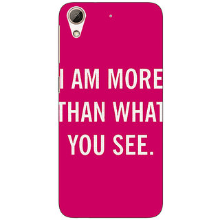 Absinthe Quote Back Cover Case For HTC Desire 728G Dual Sim