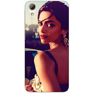 Absinthe Bollywood Superstar Deepika Padukone Back Cover Case For HTC Desire 728G Dual Sim