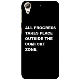 Absinthe Quote Back Cover Case For HTC Desire 728 Dual Sim