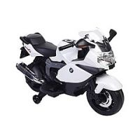 Ride on kids bike BMW licence version white colour