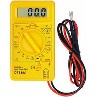 Digital Multimeter Voltage Current Resistance Meter Polarity Overload