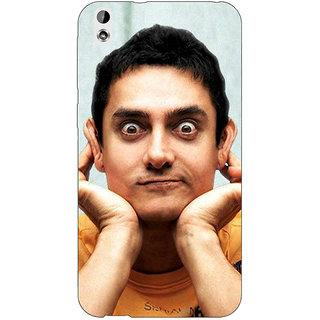 Absinthe Bollywood Superstar Aamir Khan Back Cover Case For HTC Desire 816G