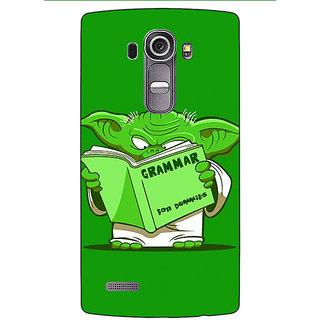 Absinthe Grammar Yoda Back Cover Case For LG G4