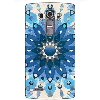 Absinthe Dream Flower Pattern Back Cover Case For LG G4