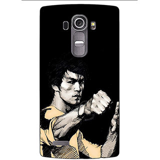 Absinthe Bruce Lee Back Cover Case For LG G4
