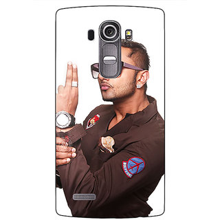 Absinthe Bollywood Superstar Honey Singh Back Cover Case For LG G4