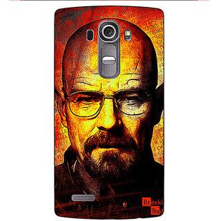 Absinthe Breaking Bad Heisenberg Back Cover Case For LG G4