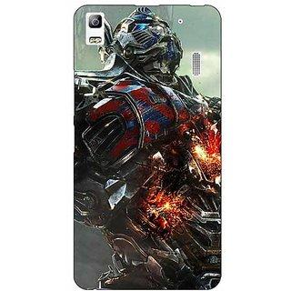 Absinthe Transformers Optimus Prime Back Cover Case For Lenovo K3 Note