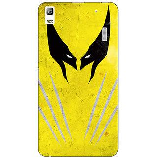 Absinthe Superheroes Wolverine Back Cover Case For Lenovo K3 Note