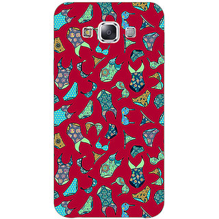 Absinthe Inners Pattern Back Cover Case For Samsung Galaxy J5